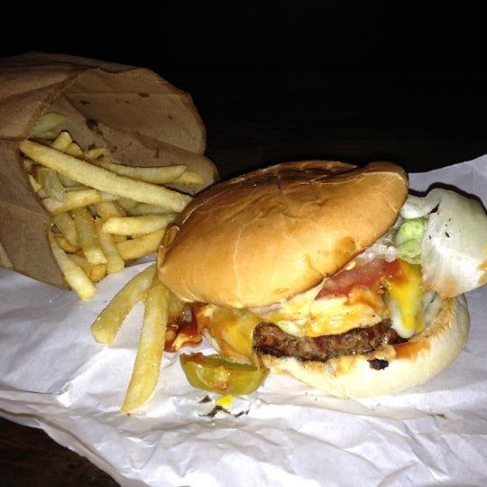 Photo taken at Burger Joint by Aggy F. on 9/13/2012