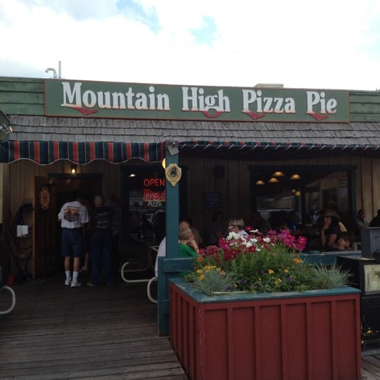 Mountain High Pizza Pie (Now Closed)