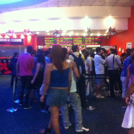 Photo taken at Cine Hoyts by Santiago F. on 2/14/2012