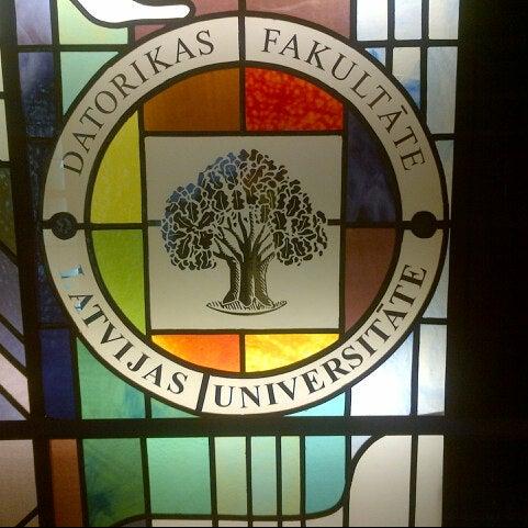 Photo taken at University of Latvia by Igors S. on 9/7/2012