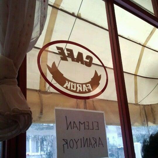 11/18/2011 tarihinde Cihan K.ziyaretçi tarafından Café Faruk'de çekilen fotoğraf