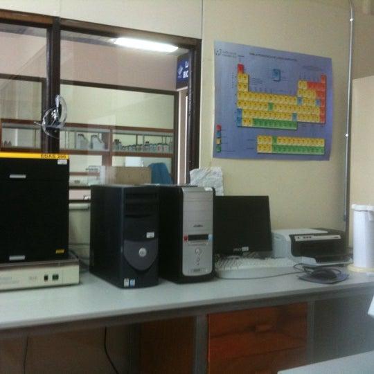 Foto tomada en Laboratorio Biotecnologia TEC por Marco M. el 7/28/2011