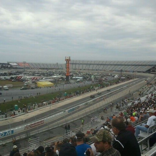 Photo taken at Dover International Speedway by Mike S. on 9/30/2011