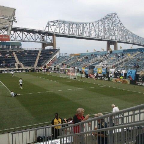Photo taken at Talen Energy Stadium by Christine O. on 7/8/2012