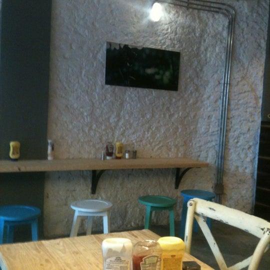 Photo taken at Biber Burger by Mert Ş. on 4/13/2012