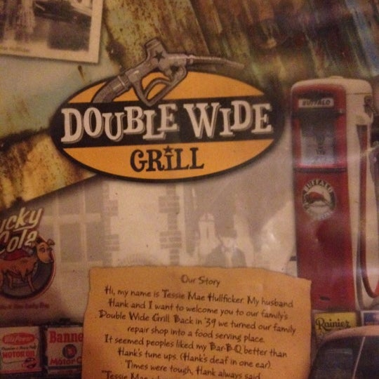 Photo taken at Double Wide Grill by Kevin H. on 8/26/2012