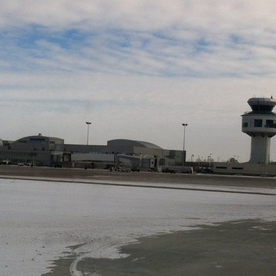 Photo taken at Saskatoon John G. Diefenbaker International Airport (YXE) by Brad L. on 2/15/2012