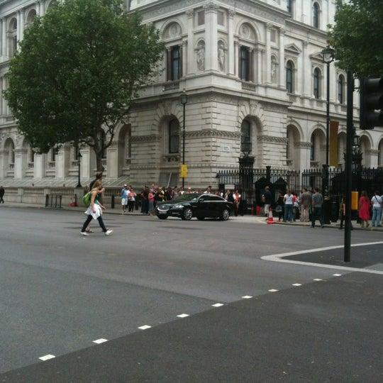 Photo taken at 10 Downing Street by Oksana O. on 7/27/2012