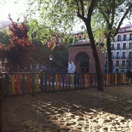 Photo taken at Plaza del Dos de Mayo by Enric A. on 7/4/2012