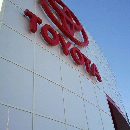 Photo taken at Toyota of El Cajon by Taylor on 10/30/2011