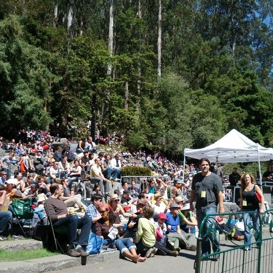 Photo taken at Sigmund Stern Grove by Marie S. on 8/26/2012