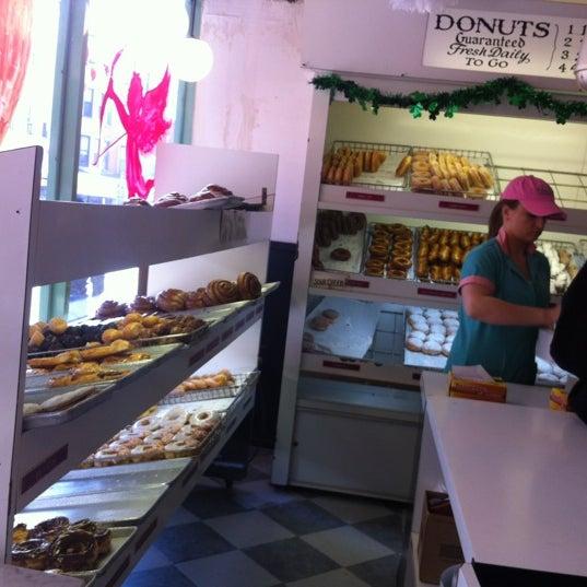 Photo taken at Peter Pan Donut & Pastry Shop by Amanda C. on 2/18/2012