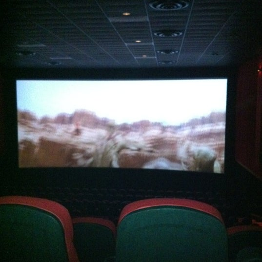 Photo taken at Frank Theatres - Queensgate Stadium 13 by Matt T. on 2/11/2012