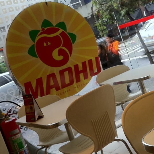 Photo taken at Madhu by Luciano B. on 8/23/2011