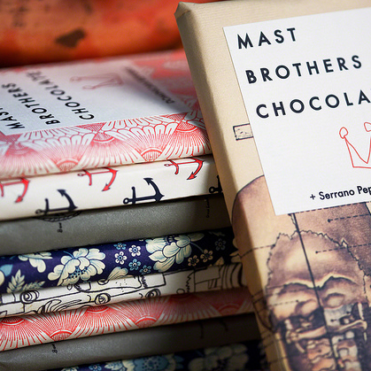 While you're here, give the Mast brothers chocolate a go (if you've got 900 pennies lying around)