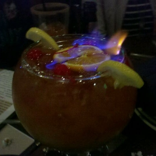 Photo taken at Lucky's 13 Pub by Mart B. on 10/25/2011