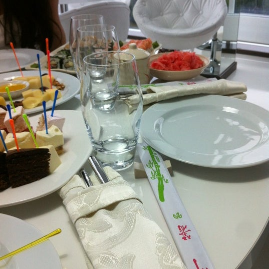 Photo prise au Ресторан Лагуна par Natalie K. le6/16/2012