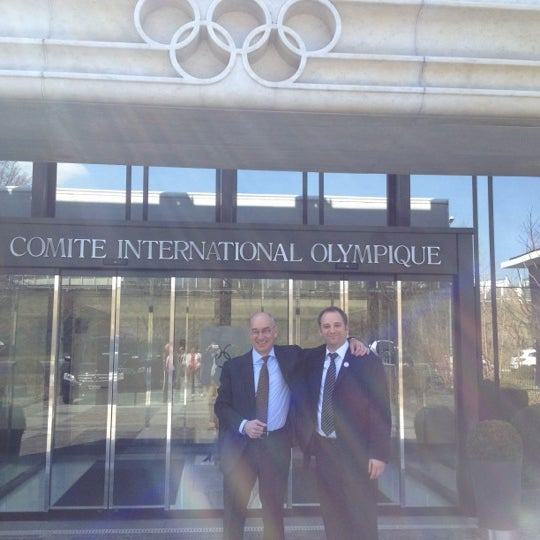 Photo taken at International Olympic Committee by Ciaran Q. on 3/23/2012