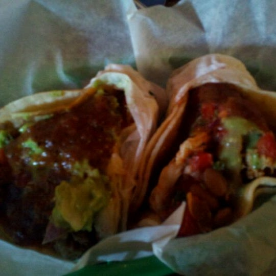 Photo taken at Nick's Crispy Tacos by Andrew K. on 11/20/2011