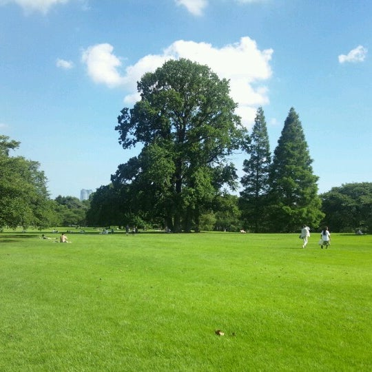 Photo taken at Shinjuku Gyoen by 真龍 平. on 8/5/2012