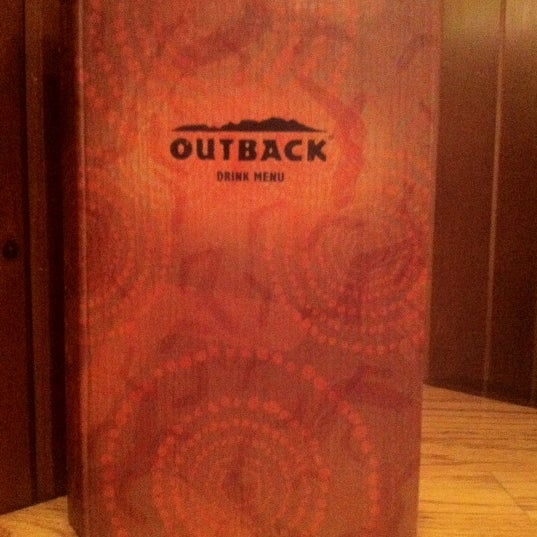 Photo taken at Outback Steakhouse by Stella Z. on 6/19/2012