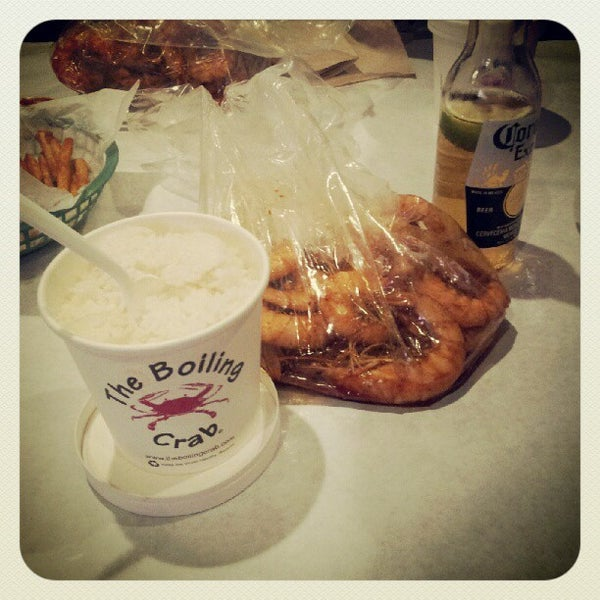 Photo taken at The Boiling Crab by Chad C. on 6/11/2012