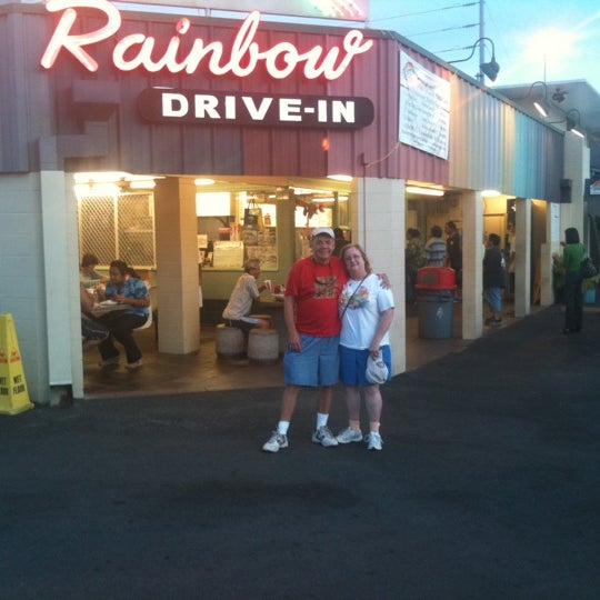 Photo taken at Rainbow Drive-in by Beverly R. on 10/6/2011