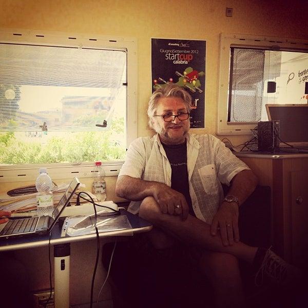 Photo taken at Facoltà di Architettura by Antonello B. on 6/19/2012