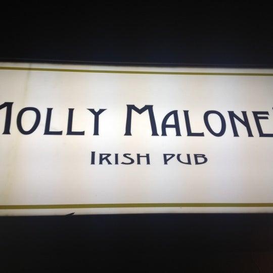 Снимок сделан в Molly Malone's Pub пользователем Igor B. 4/14/2012