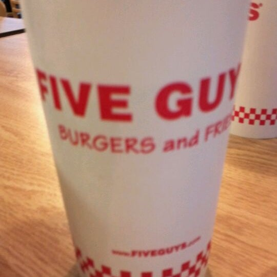 Photo taken at Five Guys by kristine l. on 9/9/2011