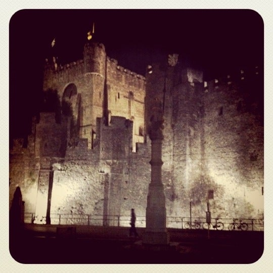 Photo taken at Castle of the Counts by Fricke on 7/18/2011