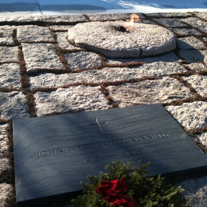 Photo taken at Arlington National Cemetery by Andrew V. on 1/5/2011