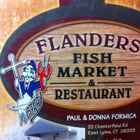 Flanders fish market 22 chesterfield rd for Flanders fish market