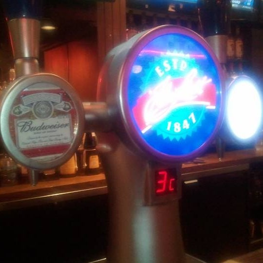 If you sit at the bar, avoid sitting by the Budweiser tap, you'll get splashes with Beer everytime it gets used