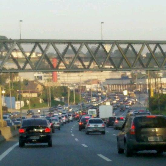 Photo taken at Rodovia Raposo Tavares by Cris Y. on 2/8/2012