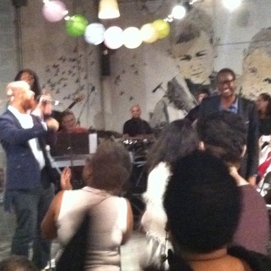 Photo taken at Expansion Church @ DCTVNY by Nyree E. on 9/25/2011