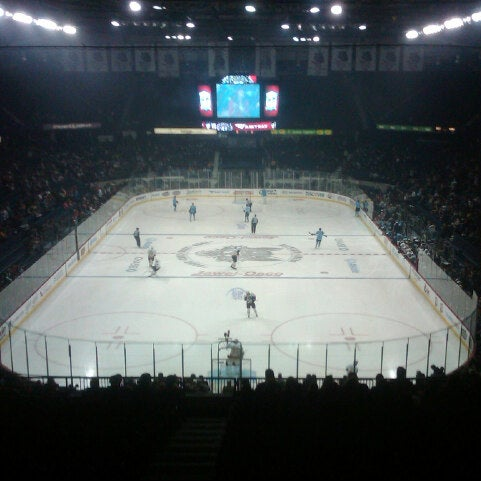 Photo taken at Allstate Arena by Michael F. on 8/4/2012