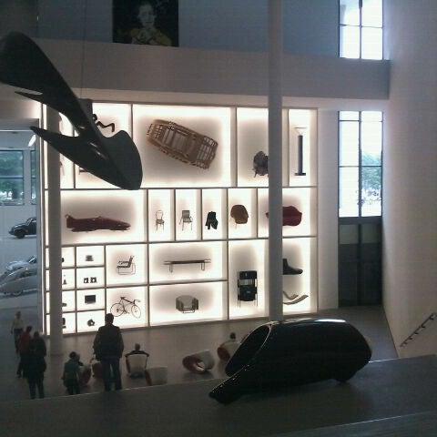 Photo taken at Pinakothek der Moderne by Christiane S. on 5/15/2011