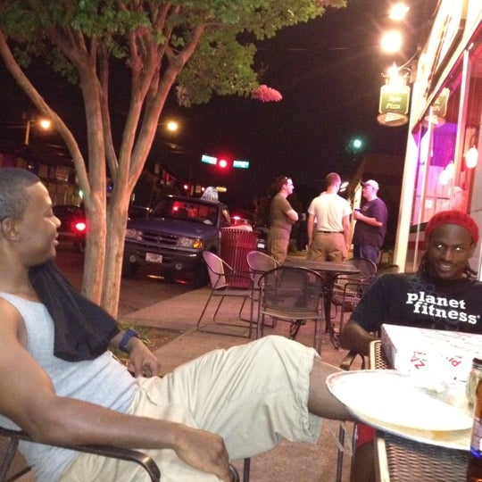 Photo taken at Burke Street Pizza by Alejandro T. on 7/1/2012