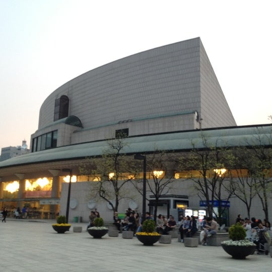 Photo taken at Seoul Arts Center by saemi k. on 4/29/2012