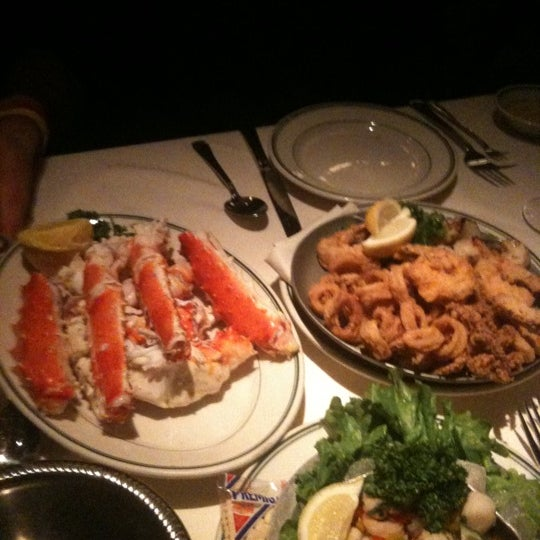 The king crab legs are awesome.