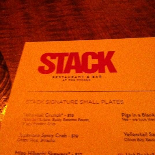 Photo taken at STACK Restaurant & Bar by MasonLV on 3/14/2012