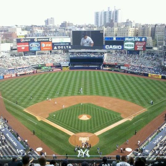Photo taken at Yankee Stadium by Jeremy S. on 9/3/2011
