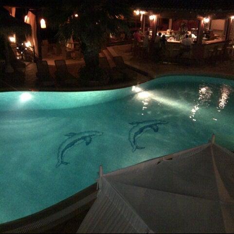 Photo taken at Delfino Blu Hotel by Bill G. on 8/23/2012
