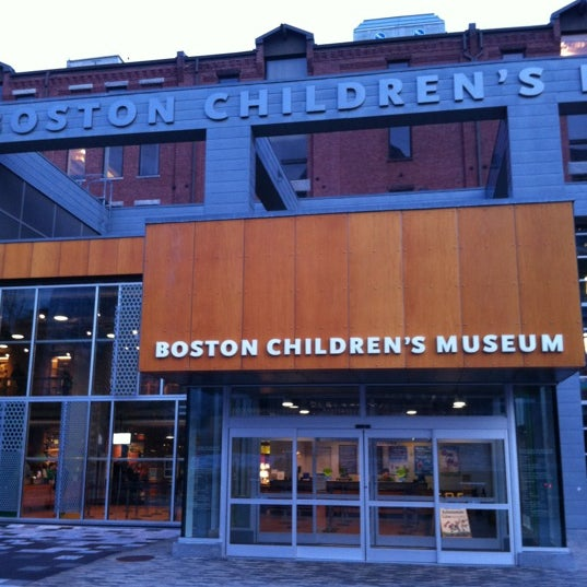 Photo taken at Boston Children's Museum by Craig M. on 12/30/2011