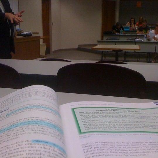 Photo taken at Oklahoma State University - Tulsa (OSU-Tulsa) by Cody O. on 9/6/2012