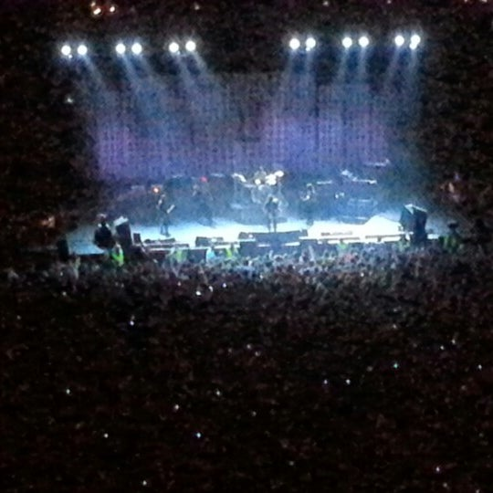 Photo taken at O2 arena by Milo D. on 7/2/2012