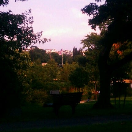Photo taken at Patterson Park by julio c. on 8/23/2012