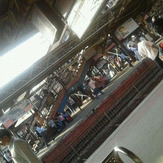 Photo taken at Dadar Railway Station by Sanyukta K. on 4/5/2012