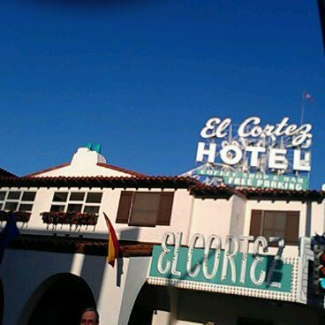 Photo taken at El Cortez Hotel & Casino by Cisco G. on 5/9/2012